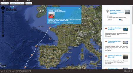 Billet de blog de Ananda au départ de Brest