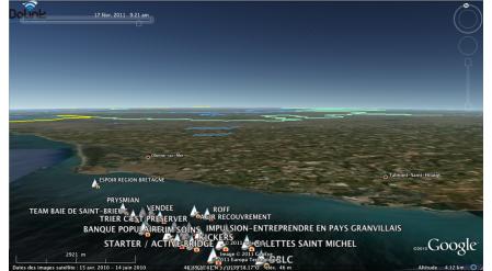 Bateau au départ de La Rochelle